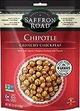 Saffron Road Crunchy Chickpeas, Chipotle, 6 Ounce