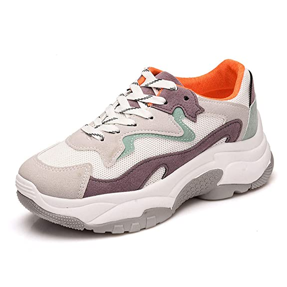 Amazon.com | For What Reason Shoes Female 2018 Autumn New Womens Shoes Casual Sports Shoes | Fashion Sneakers