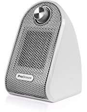 Pro Breeze® Mini Heater - Ceramic Fan Heater perfect for Desks and Tables - Personal PTC Heater, White