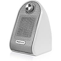 Pro Breeze Calefactor Eléctrico Cerámico 500W - con Termostato Ajustable, Bajo Consumo y Protección contra…