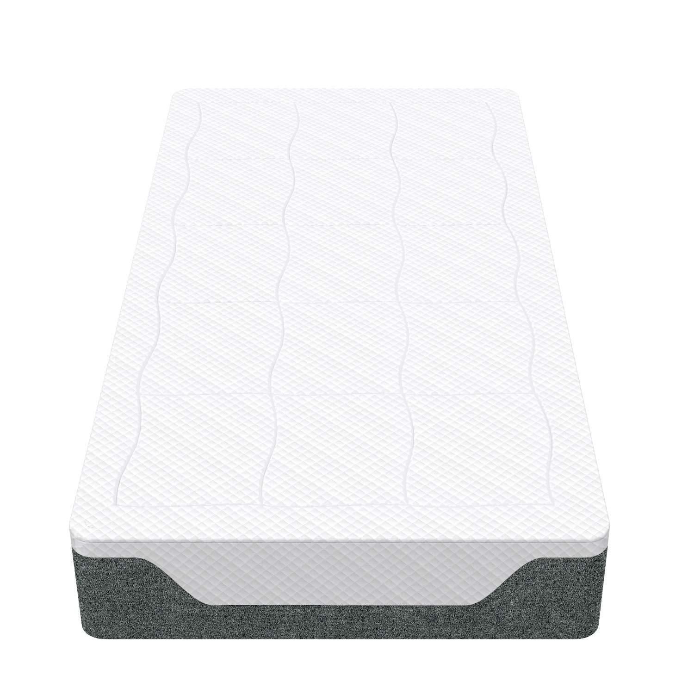 Basics 90 x 190 cm Materasso con gel//memory foam molle incapsulate