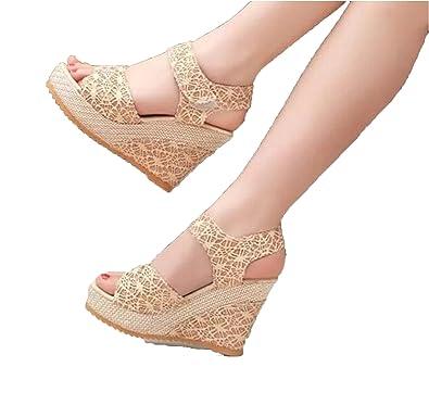 5e8ec80c52e Amazon.com  Perfect-Sense-Show Size 35-40 Women Sandals 2017 Summer ...