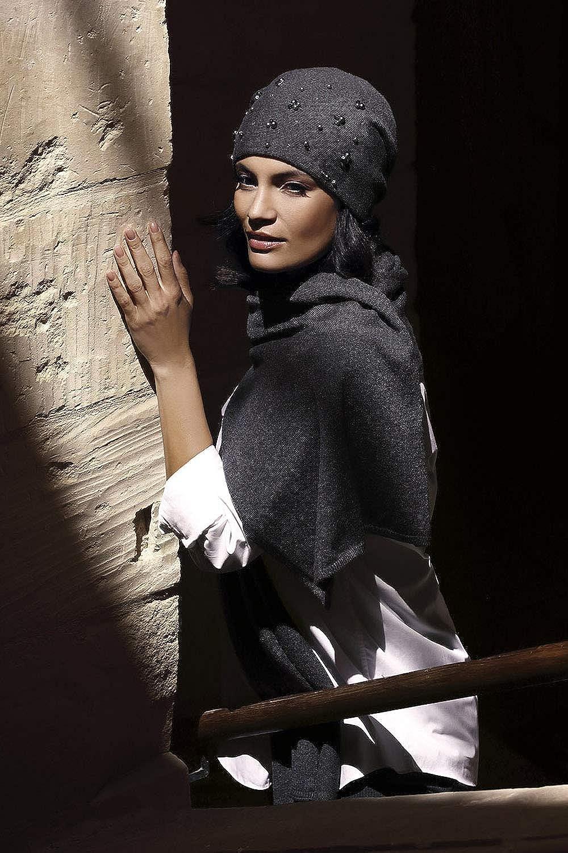 Kamea Damen M/ütze Kopfbedeckung Herbst Winter Terrassa