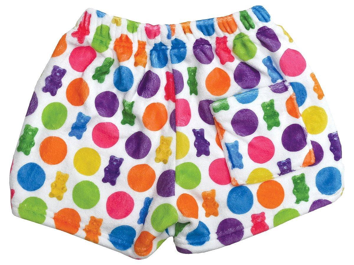 Rainbow Sweets Collection The Mines Press Inc iscream Big Girls Silky Soft Plush Fleece Shorts 820-SSSRS