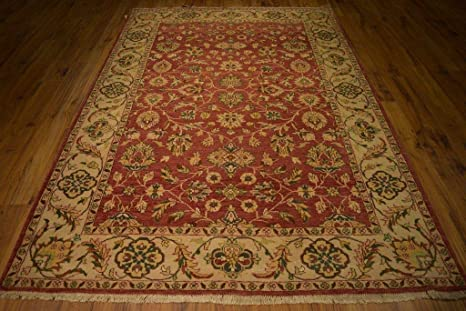 Amazon Com Red Oushak 67 X 98 In Handmade Rugs For Sale 6 X 8