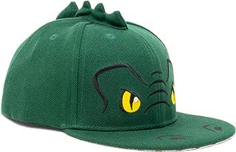 Ann Arbor T-shirt Co. Kid's Dinosaur Hat | Children's T-Rex Baseball Cap Boy Girl Child Fun Animal Green