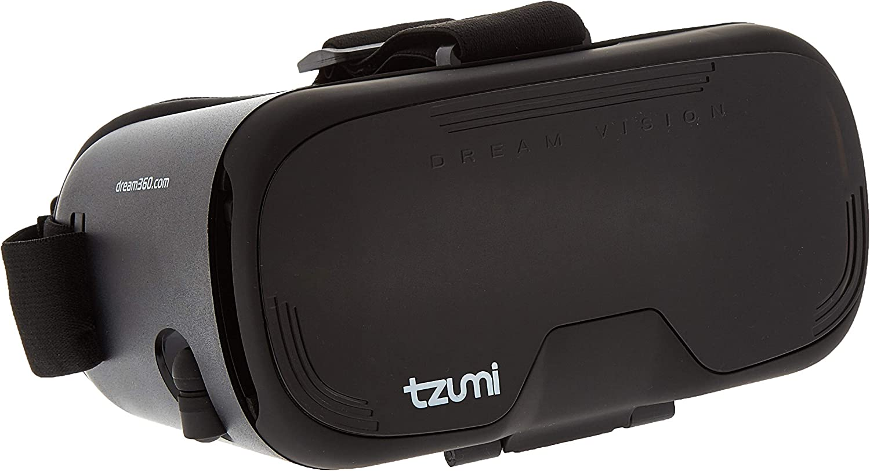 Tzumi Dream Vision Pro Virtual Reality Smartphone Headset Black New In Box