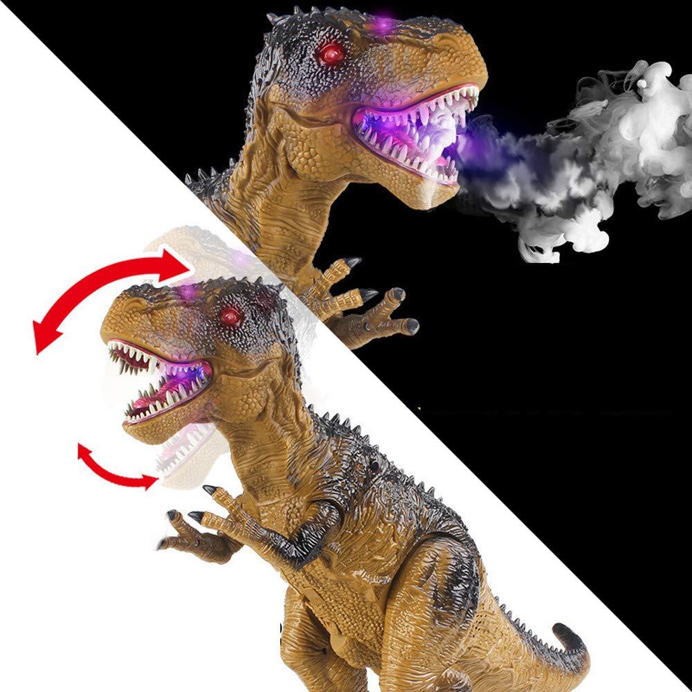 Sannysis Christmas Decor, Remote Control Walking Dinosaur Toy Fire Breathing Water Spray by Sannysis (Image #7)