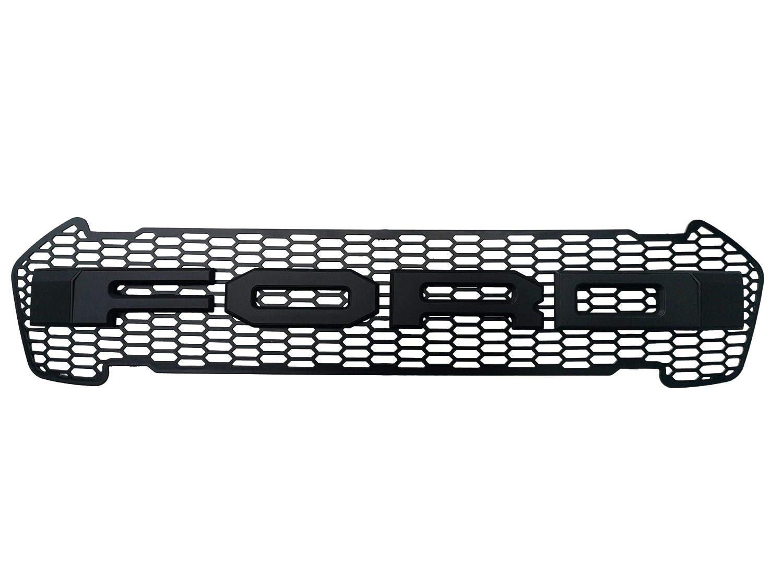 Schwarzer Raptor Style Frontgitter GRILL RANGER T6 T7 ab 2016