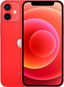 Apple iPhone 12 Mini, 64GB, (Product)Red - Fully Unlocked (Renewed)