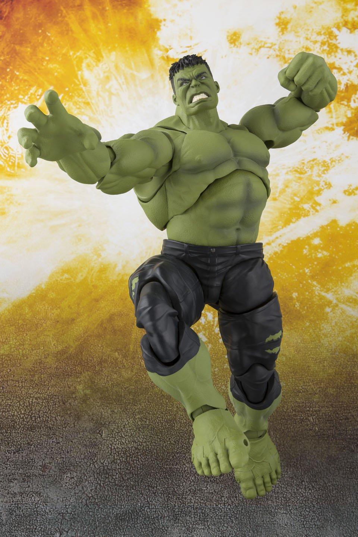 Anime Unleashed Figuarts Marvel Avengers Infinity War Hulk Action Figure