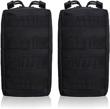 TANG SHI® 2 Pack Bolsas Molle – Multiusos táctico compacto ...
