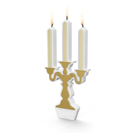 Fancy That 5228997 Cake Candelabra Birthday Holder With 9 Candles Assorted