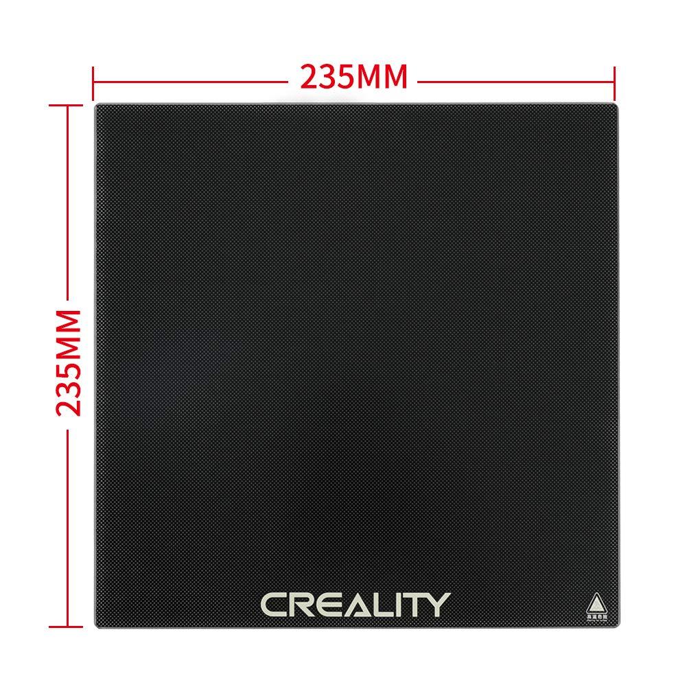 Sovol Cama Caliente Cristal 235 x 235 x 3 mm para Creality Ender 3 Ender 5 Anet A8 impresora 3D Piezas