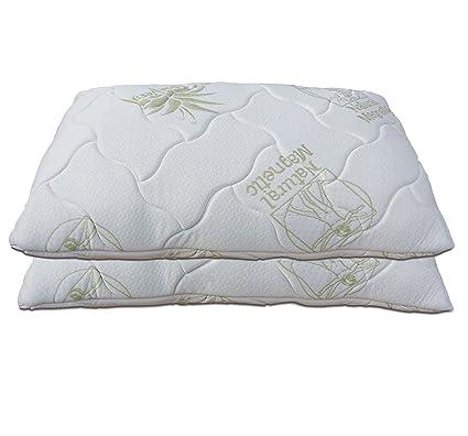 Materasso Memory Foam Baldiflex.Baldiflex Pair Of Bow Memory Foam Pillow Size 72 X 42 H12 Cm