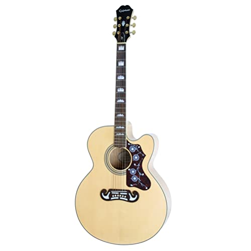 Epiphone AJ-220SCE Solid Top Cutaway Acoustic Guitar