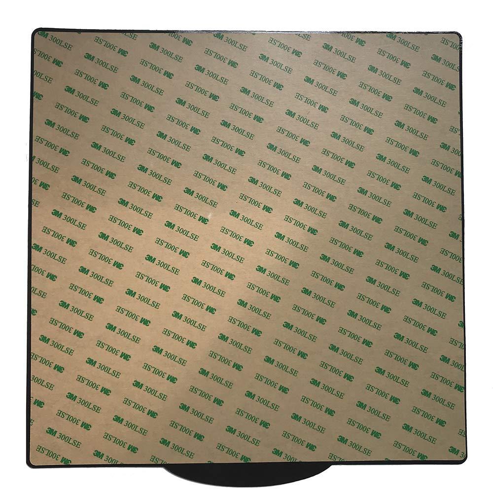 CCTREE ultraflexible, superficie magn/ética extra/íble, con calefacci/ón Funda para cama CR-10//CR-10S Pro 310 x 310 mm