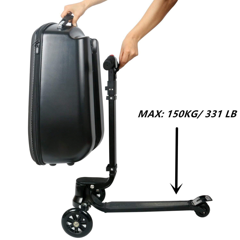 Amazon.com: Maleta de scooter iubest, equipaje de scooter de ...