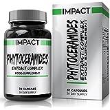 Phytocéramides - 40mg Céramides - Vitamines A C D E ajoutées - Derivé du Riz Pour Hommes et Femmes - Convient aux Végétariens - 30 Capsules (30 Jours d'Approvisionnement) de Earths Design