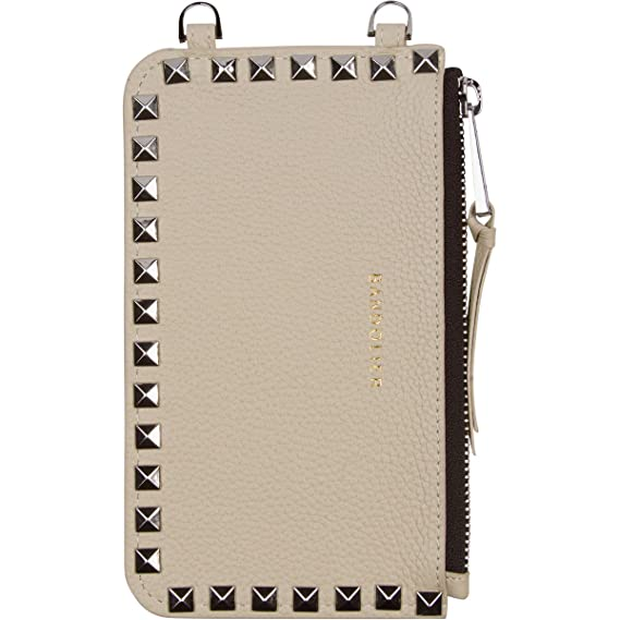 422aed1c921056 Amazon.com  Bandolier  Sarah  Leather Pouch - Ivory with Silver ...
