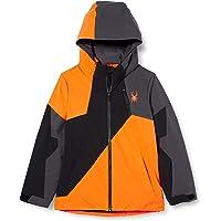SPYDER Ambush Chaqueta, Unisex niños, Color Naranja, 10 Años