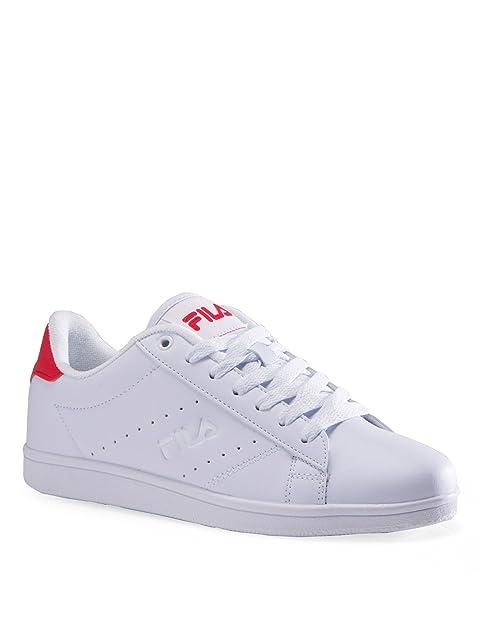 Fila - Zapatillas de tenis para mujer blanco blanco, color blanco, talla 39 1/3: Amazon.es: Zapatos y complementos