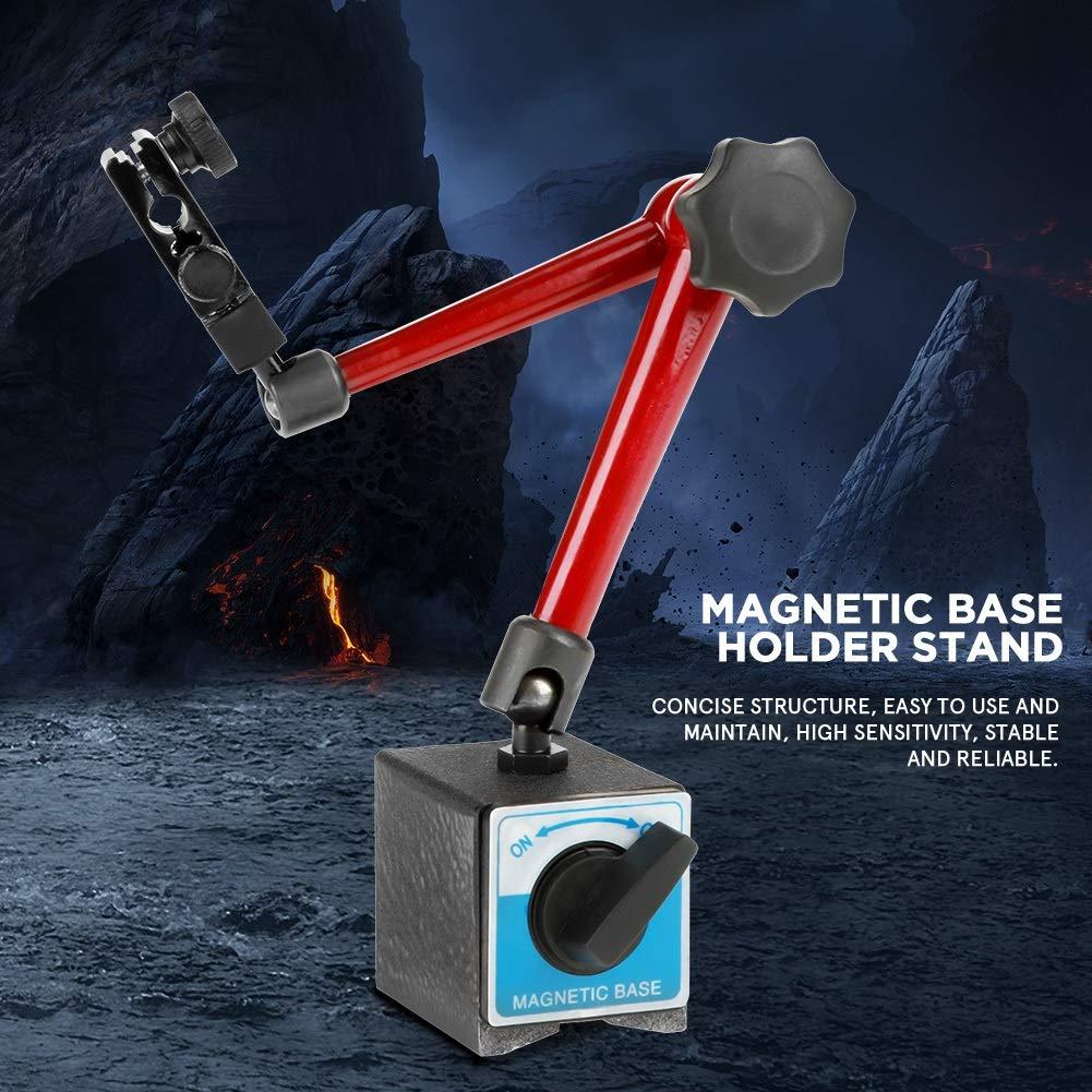 Dial Indicator Holder - 350mm Adjustable Universal Magnetic Base Holder Stand for Dial Test Gauge Indicator,Dial Holder,Dial Gage Holder by OKBY (Image #8)