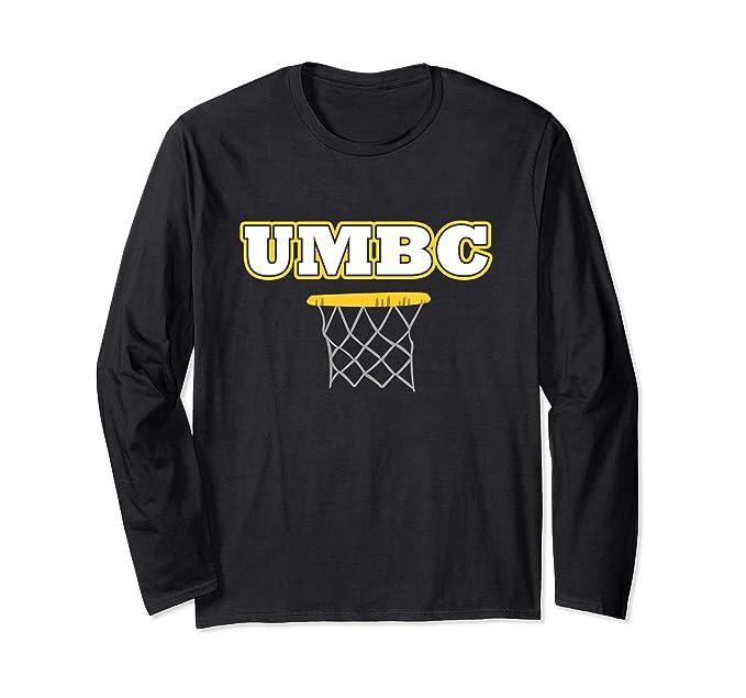 a991b7ed Amazon.com: UMBC tee - Basketball Long Sleeve shirt: Clothing