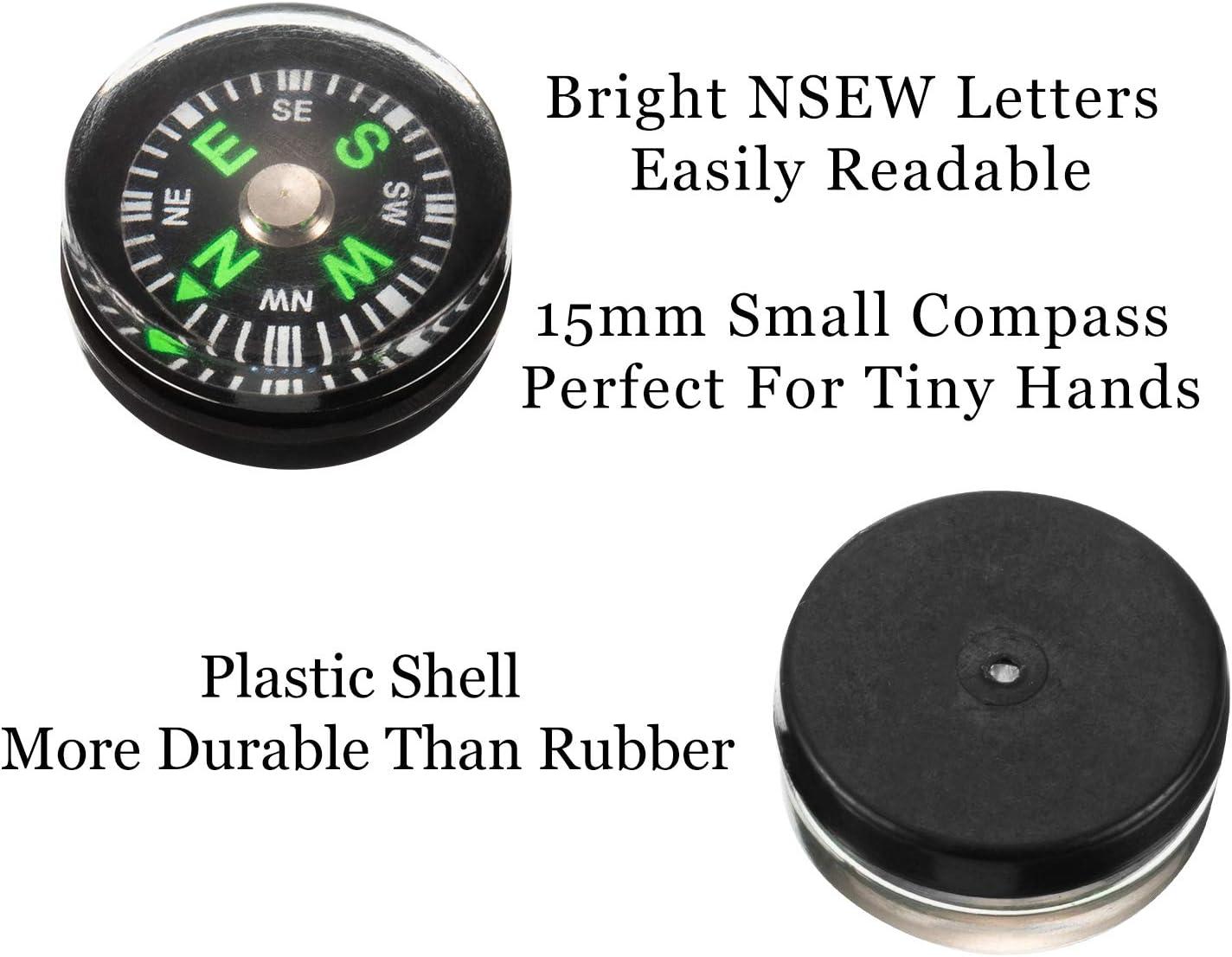 Compass-Mini boussole en plastique portable facile /à lire avec ventouse pour votre voiture