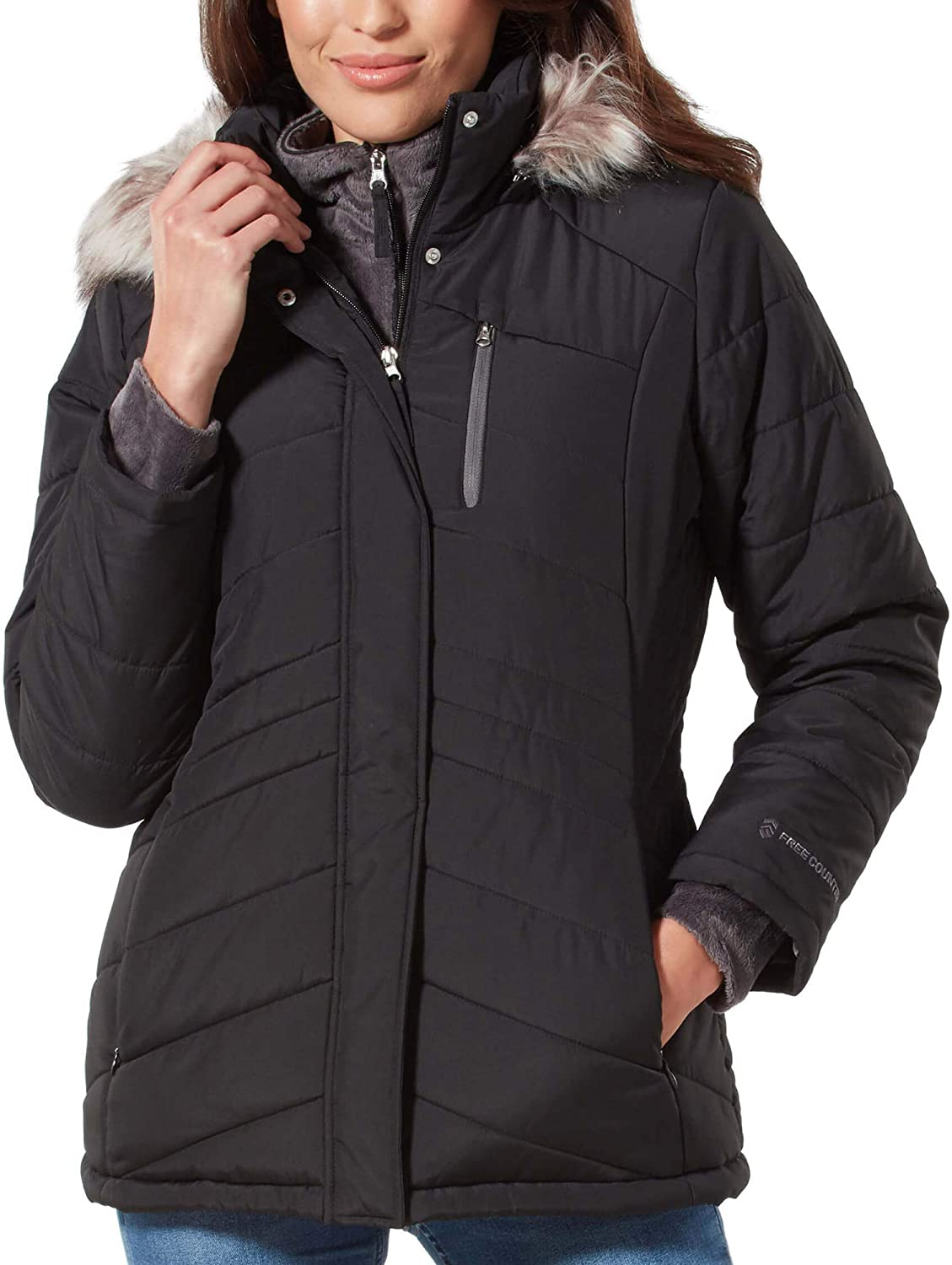 Free Country Women's Endeavor Parka Jacket