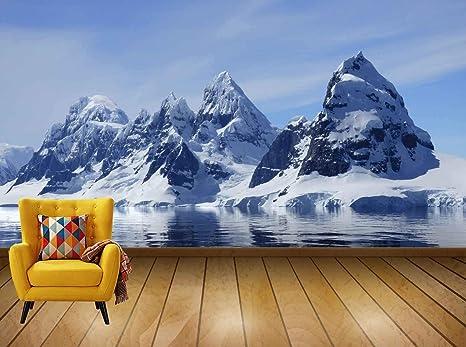 Buy Avikalp Exclusive Awi7551 Ice Mountain Winter Glacier