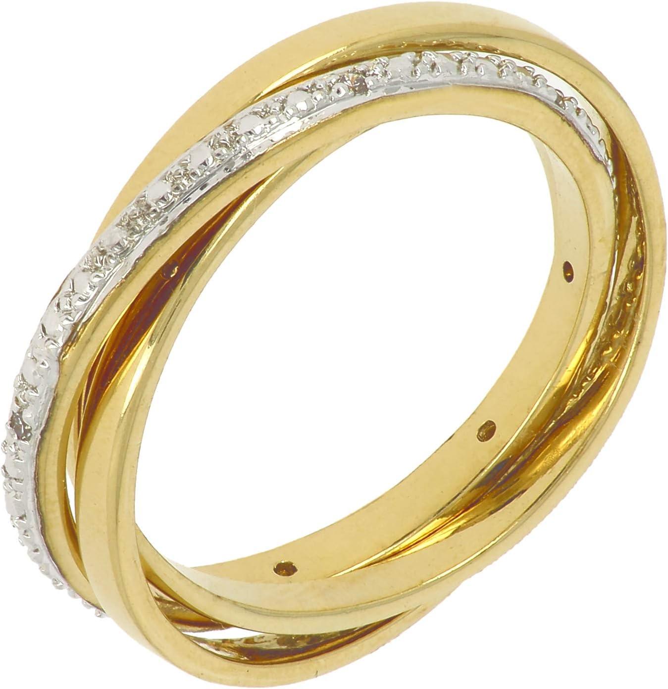 ISADY Lilo Gold Damen Ring 18 Karat Gelbgold: Amazon