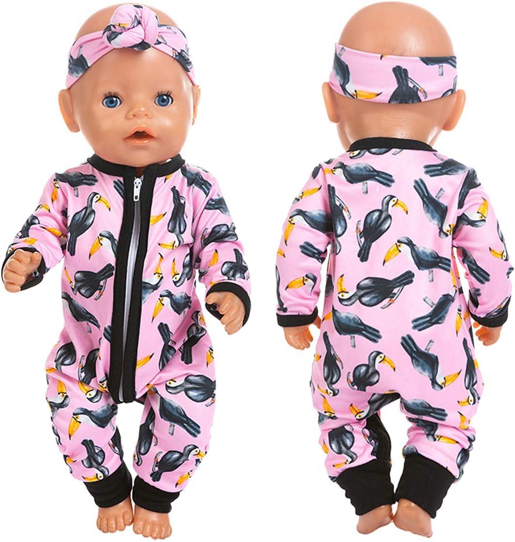 Poupées Vêtements 43 cm Baby Born Poupée ou similaire Tenue Maillot de bain
