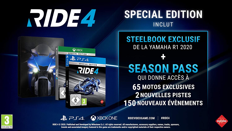 Ride 4 - Special Edition: Amazon.es: Videojuegos
