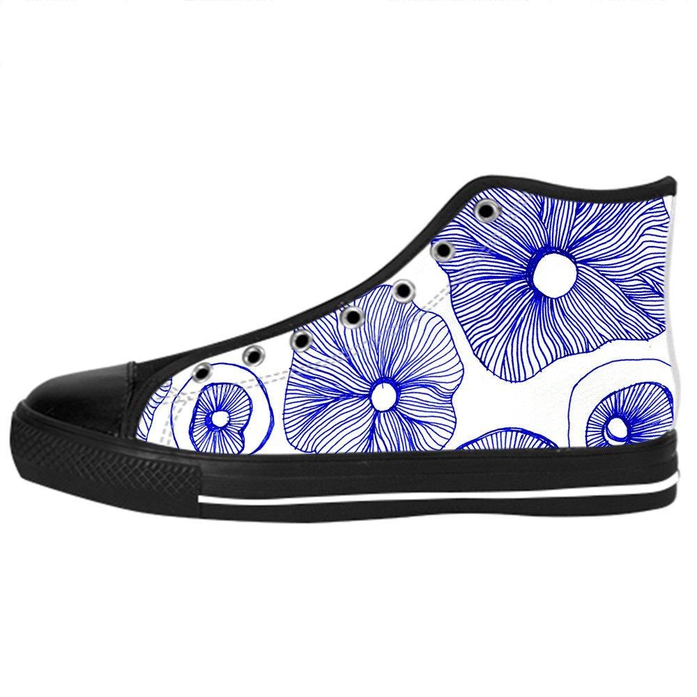 Custom Mushroom Mens Classic High Top Canvas Shoes Fashion Sneaker