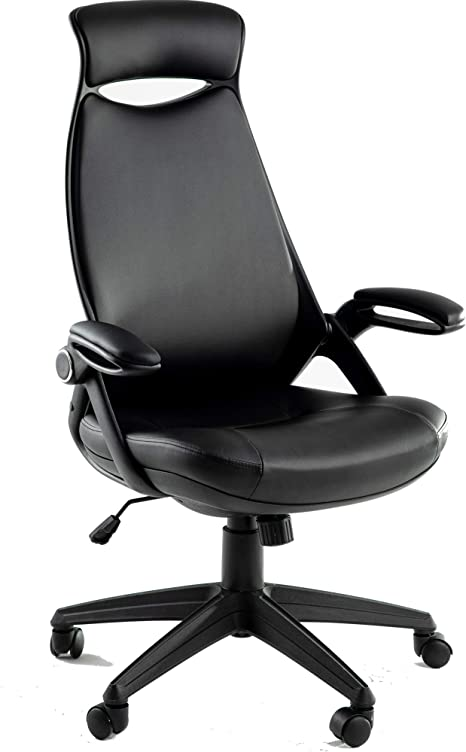 Executive Office Chair With Lumbar And Headrest Support