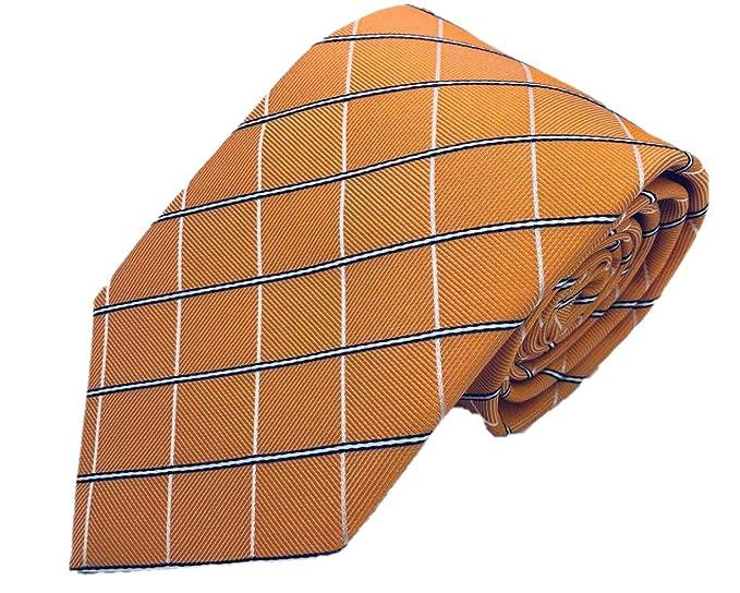 Silk Ties - Corbata - para hombre Naranja naranja Talla única ...