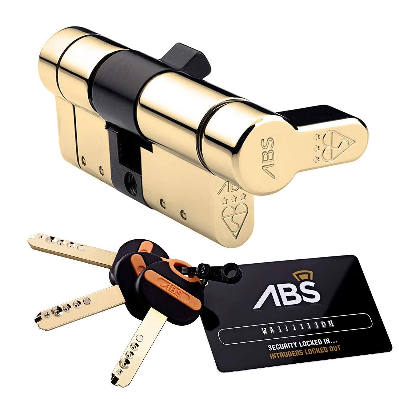Avocet ABS HS2400 Quantum Security Thumb Turn, Chrome, Int 40mm External