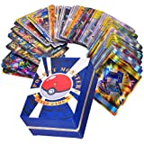 120 Stks Pokemon Card Set, Verschillende Cartoon Game Card, Kinderen GX Trading Cards Inclusief 30 Stks Team Up + 50…