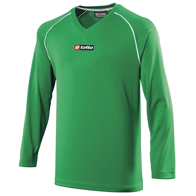 Lotto Camiseta/Equipación de Futbol Manga Larga Para Hombre -Equipos (Grande (L