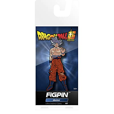 FiGPiN Mini Dragon Ball Super: Ultra Instinct Goku - Collectible Pin: Video Games