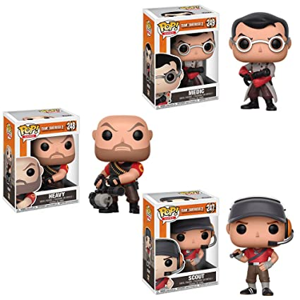 Funko Team Fortress 2 POP Red Scout Vinyl Figure NEW Toys IN STOCK