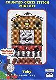 Thomas The Tank Engine Character 'Toby' Cross Stitch Kit - DMC