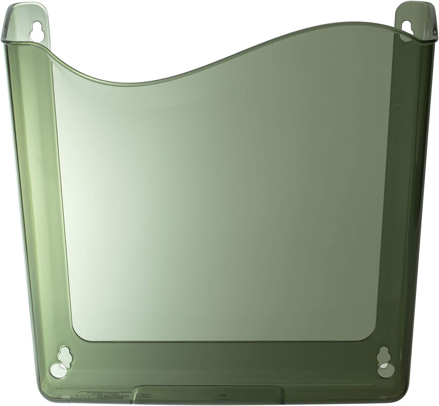 Officemate Unbreakable Wall File, Letter/A4, Vertical, Smoke(21671)
