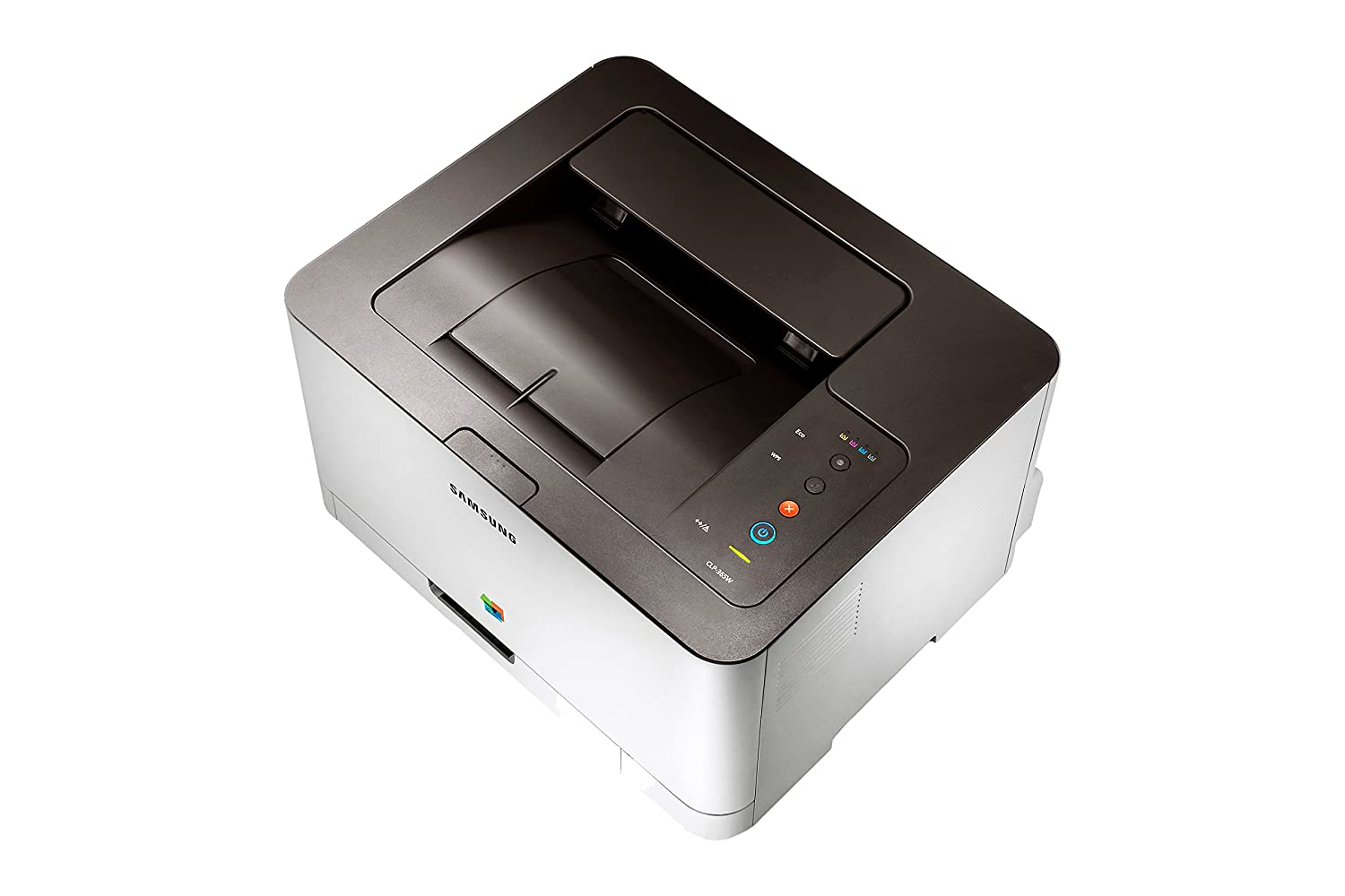 Amazon.com: Samsung Clp-365W Wireless Colour Laser Printer ...