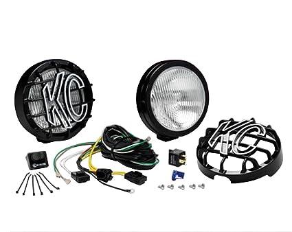 Super Amazon Com Kc Hilites 127 Slimlite Black 100W Fog Light System Wiring Digital Resources Dylitashwinbiharinl