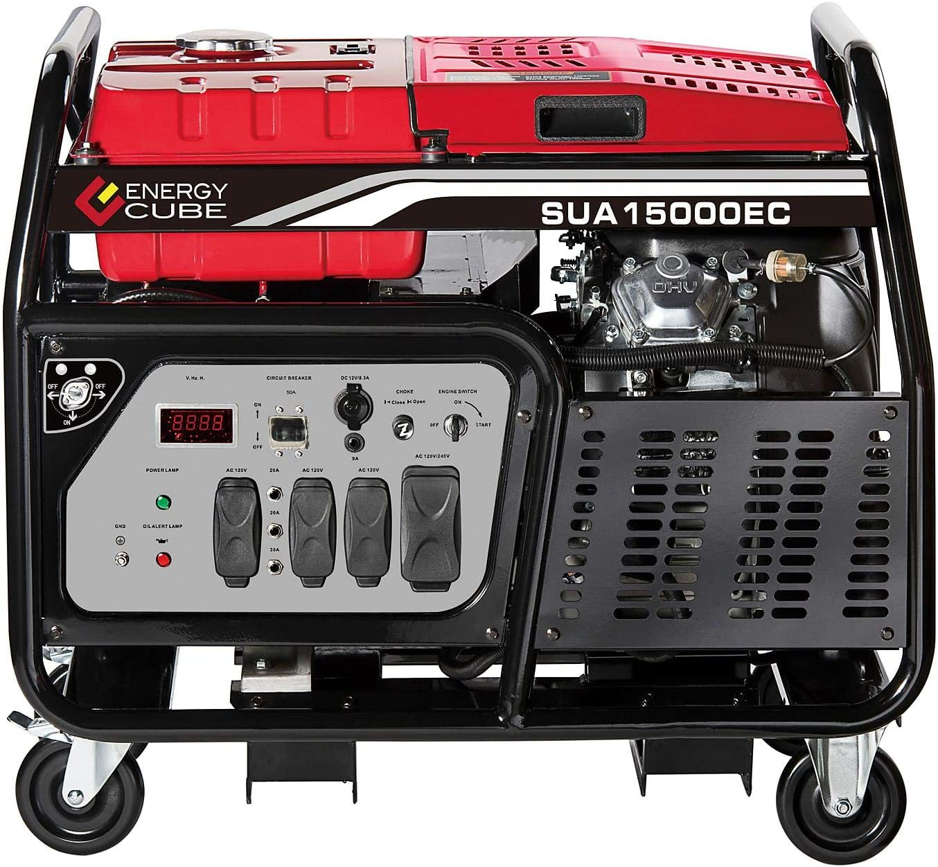 A-iPower SUA15000EC SUA15000E 15000 Watt Ultra Heavy Duty Generator, EPA/CARB COMPLIED Ship to All 50 States