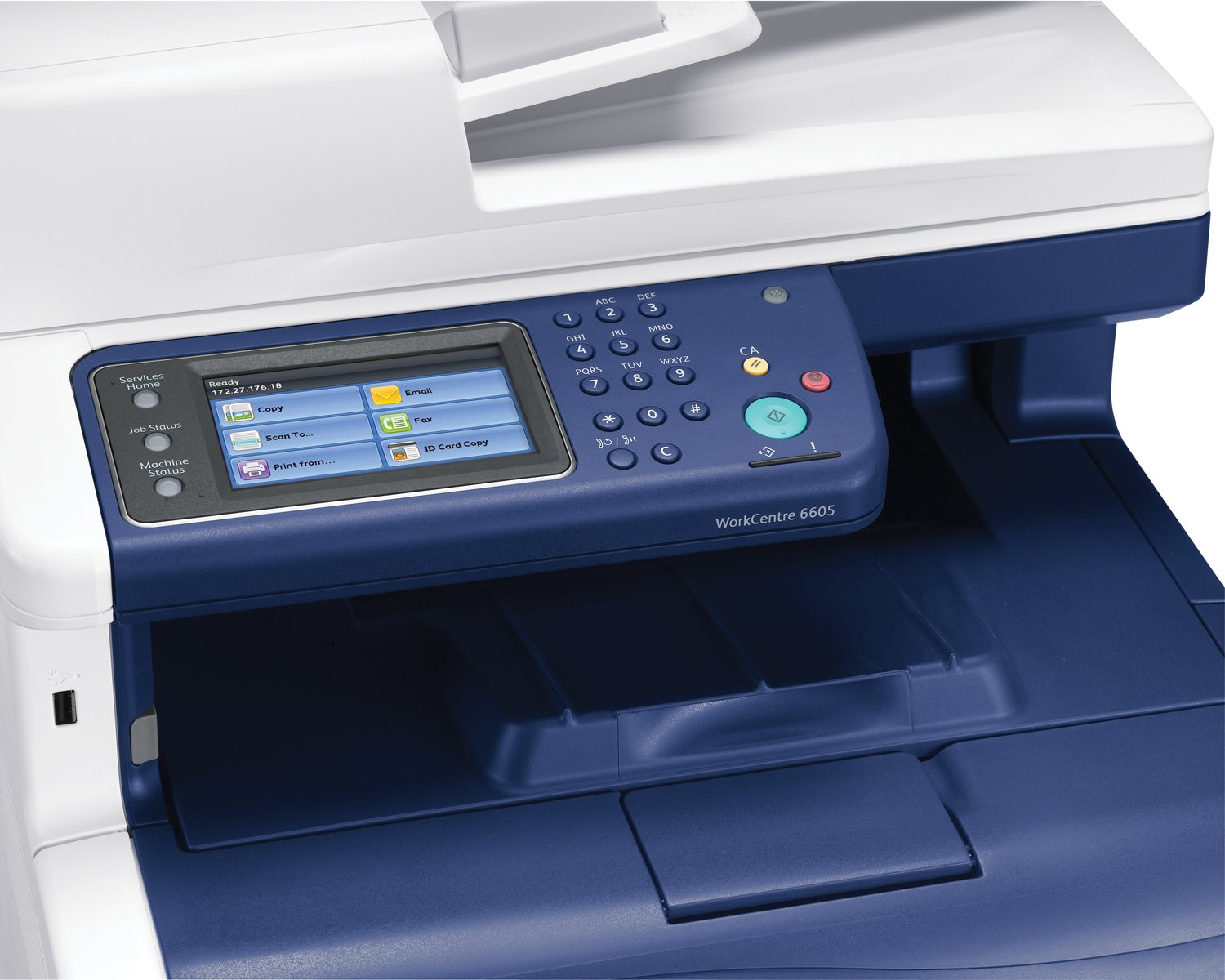 Xerox workcentre 6605dn multifunction printer colour amazon co uk office products