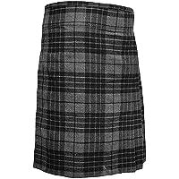 Highland Grey - Falda escocesa para hombre