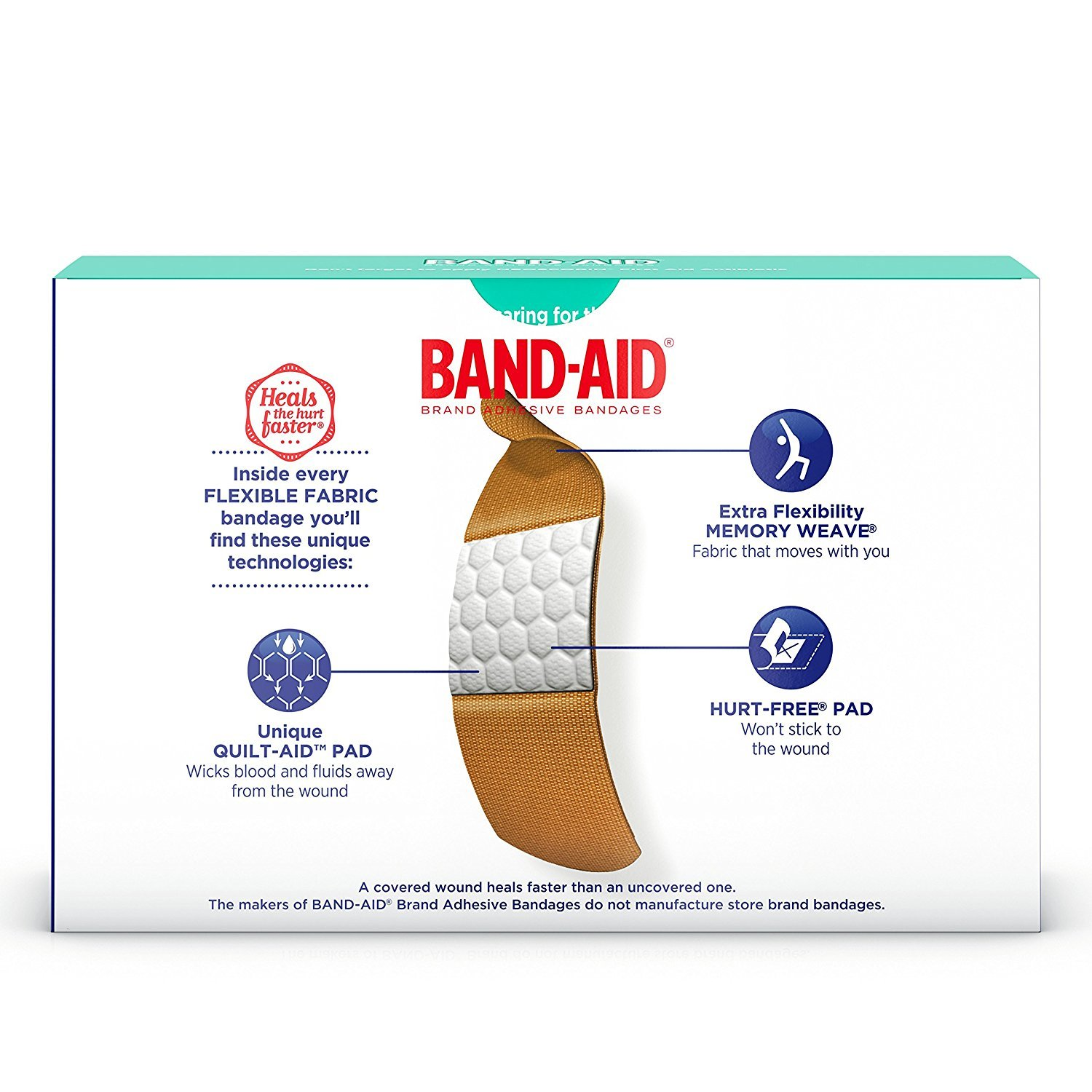 Johnsons Band-aid Flex Fabric Travel Pack - 8 Count Ea. - 12 Packs by Band-Aid (Image #7)